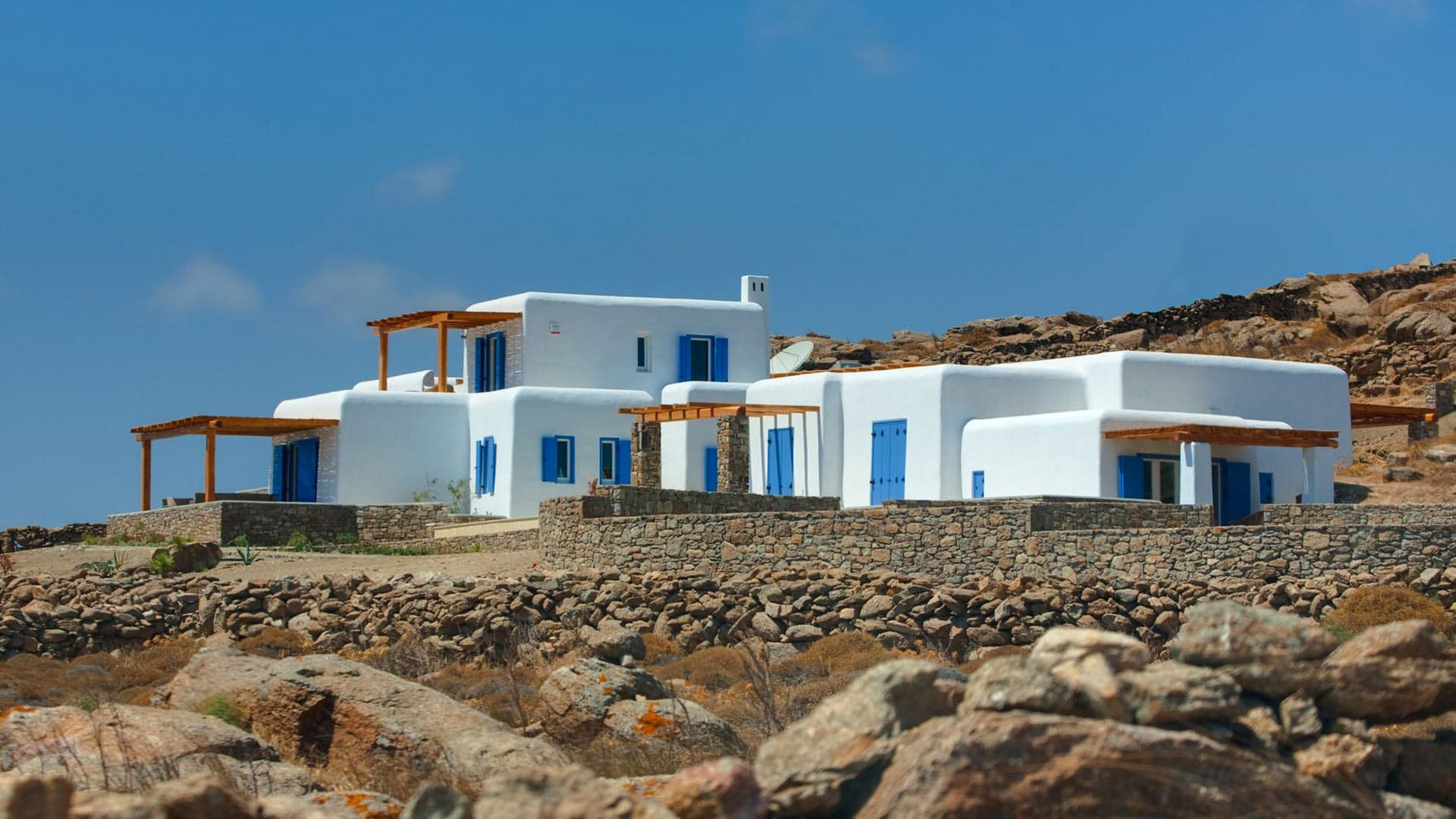 Best Island Beaches For Partying Mykonos St Barts: Villa Rental In Cyclades