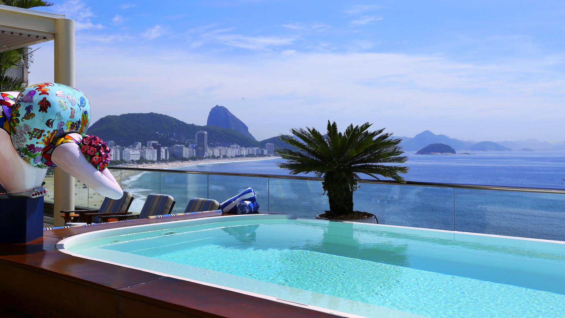 Villa Polyana Penthouse, Location à Rio de Janeiro