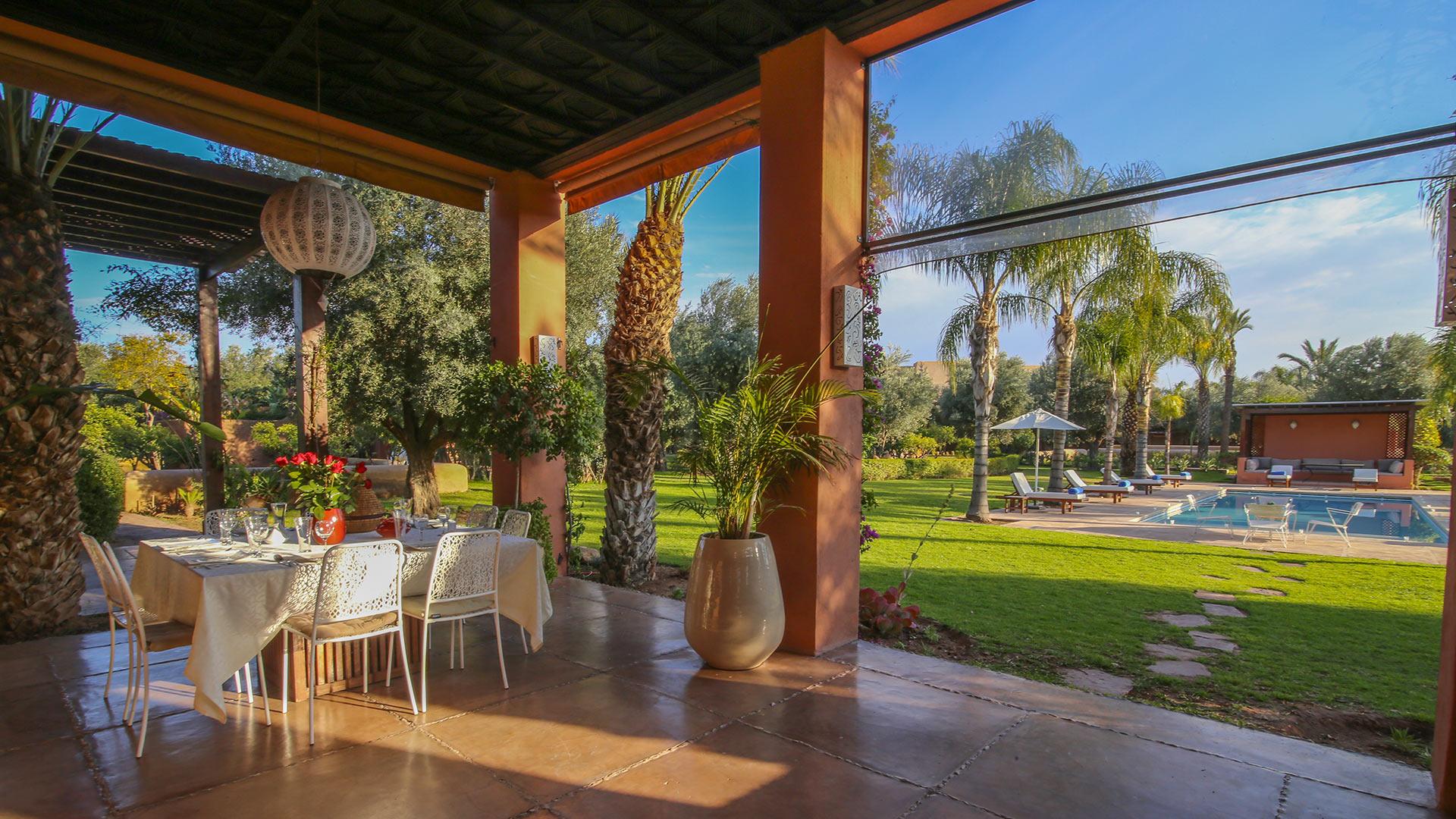 Photos of villa villa des jardins in marrakech villanovo for Villa des jardins marrakech