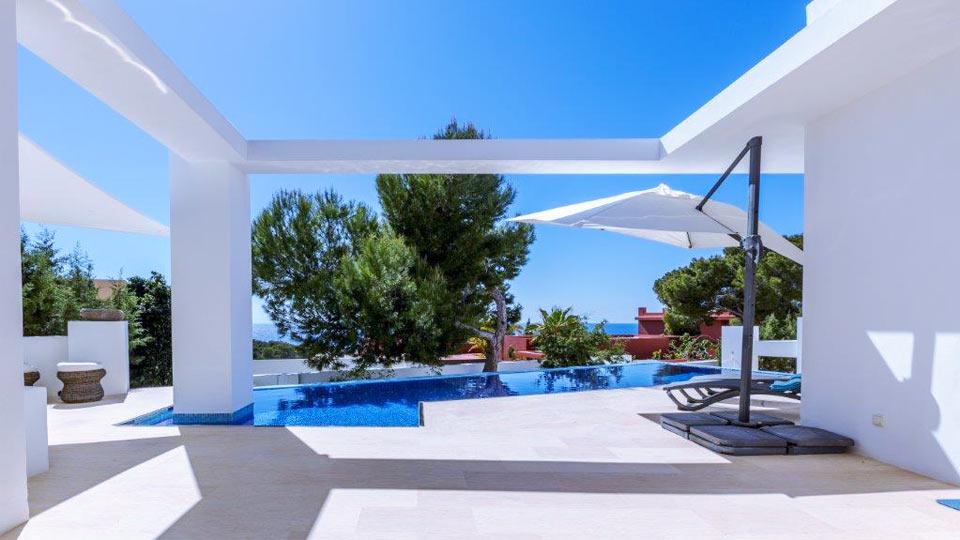 villa 703 villa mieten in ibiza ibiza westen villanovo. Black Bedroom Furniture Sets. Home Design Ideas