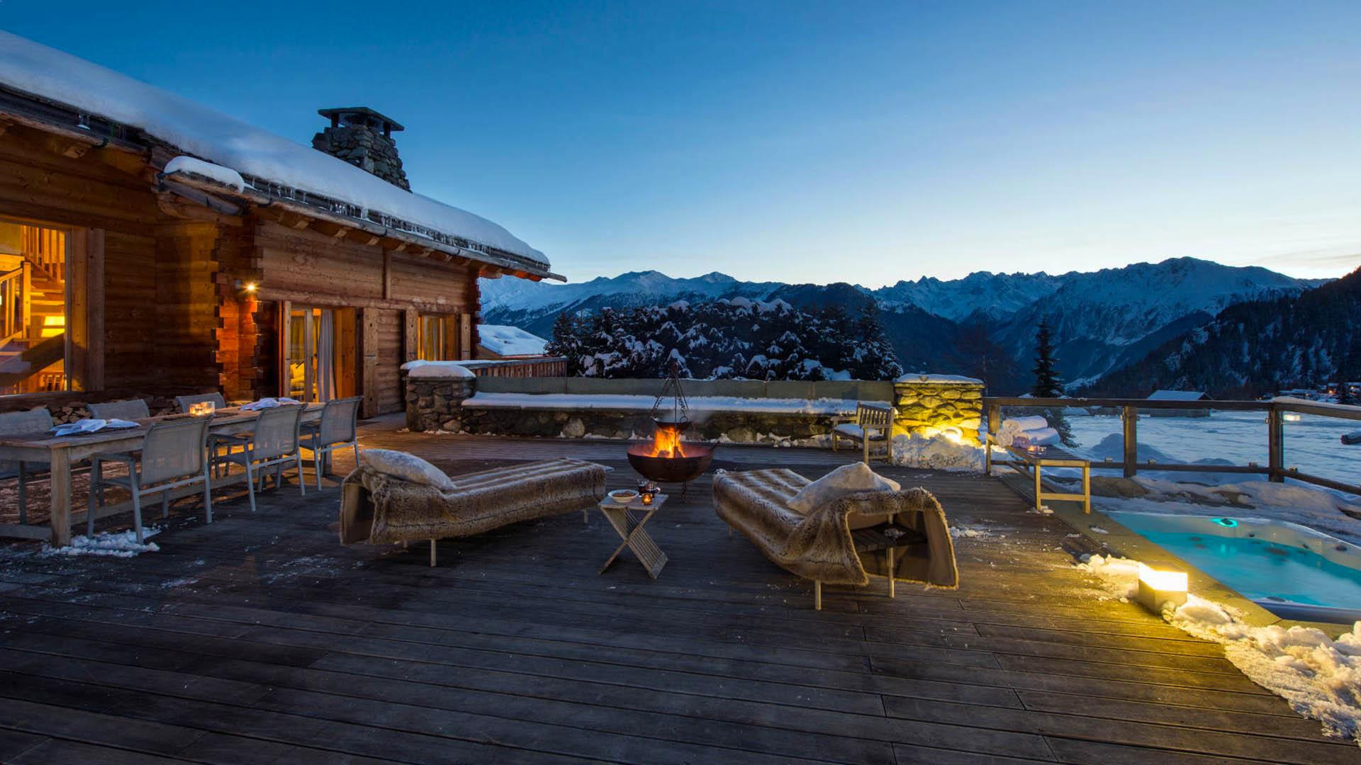 Villa Chalet Fribourg, Location à Alpes suisses