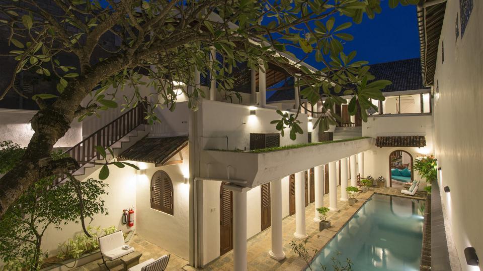 Villa Ambassador's House, Location à Galle