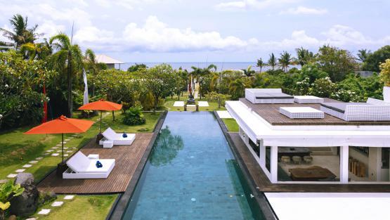 Villa Villa Ombak Putih, Location à Bali