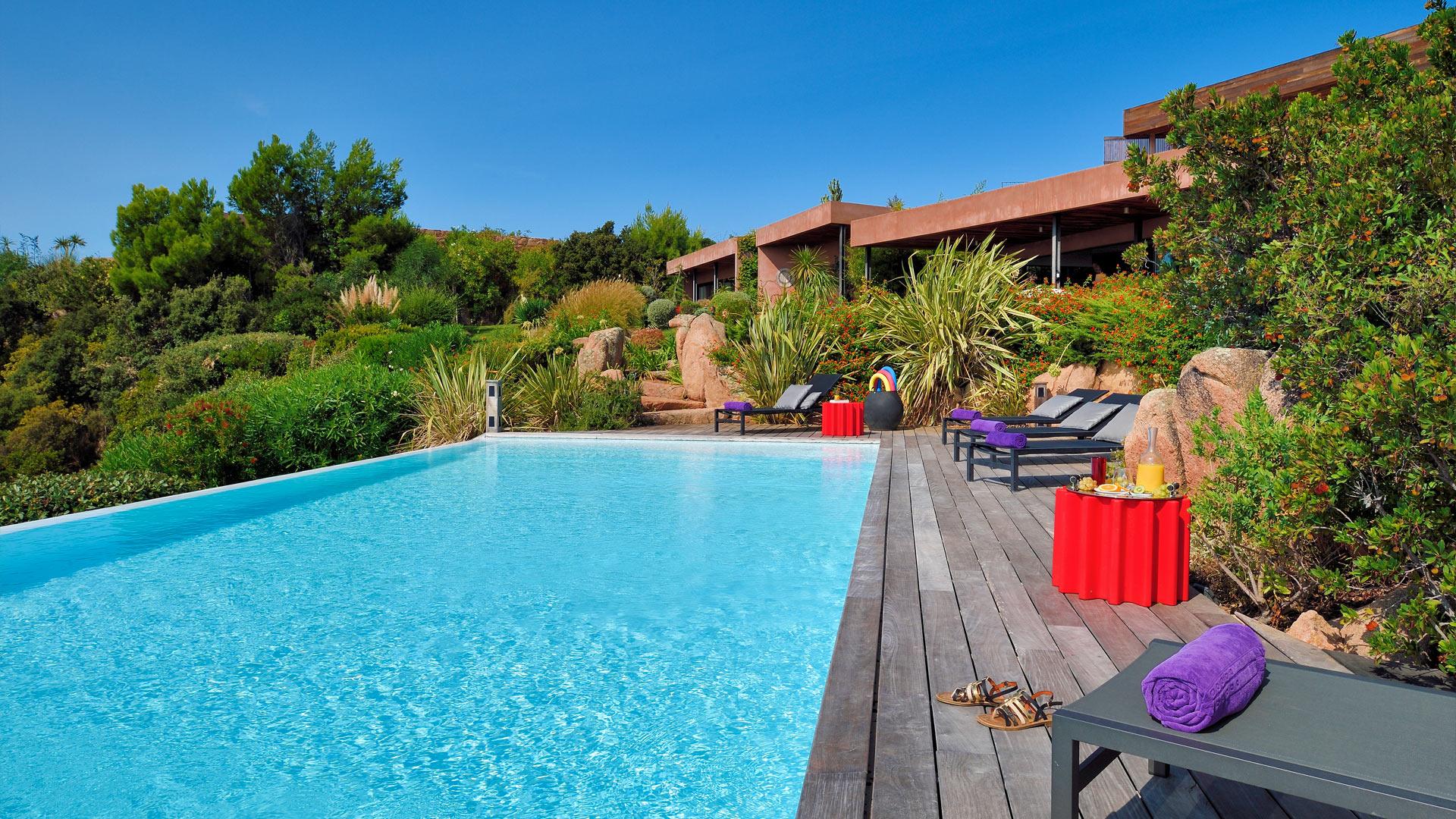 Photos de la villa villa palombaggia corse villanovo for Villa avec piscine en corse