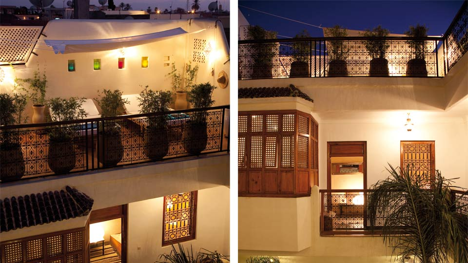 Villa Riad Sbaa, Location à Marrakech