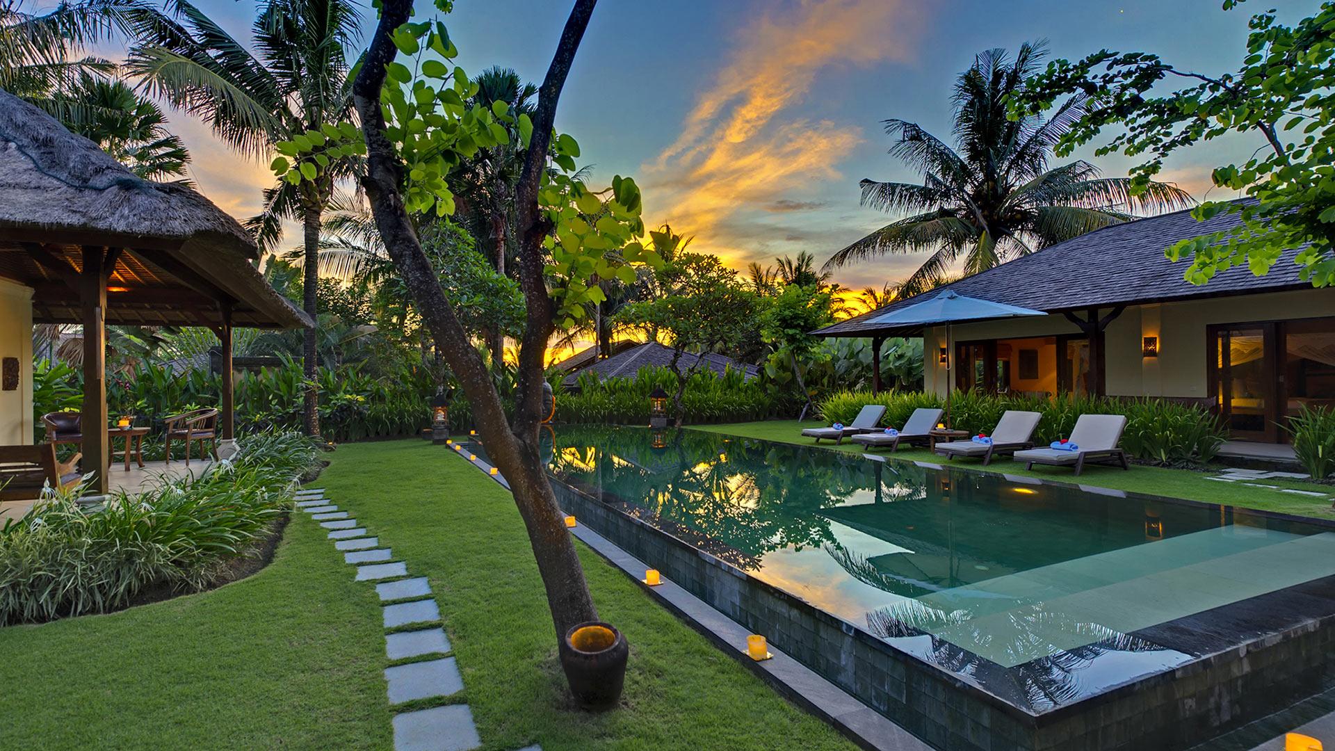 Villa Villa Asmara, Location à Bali