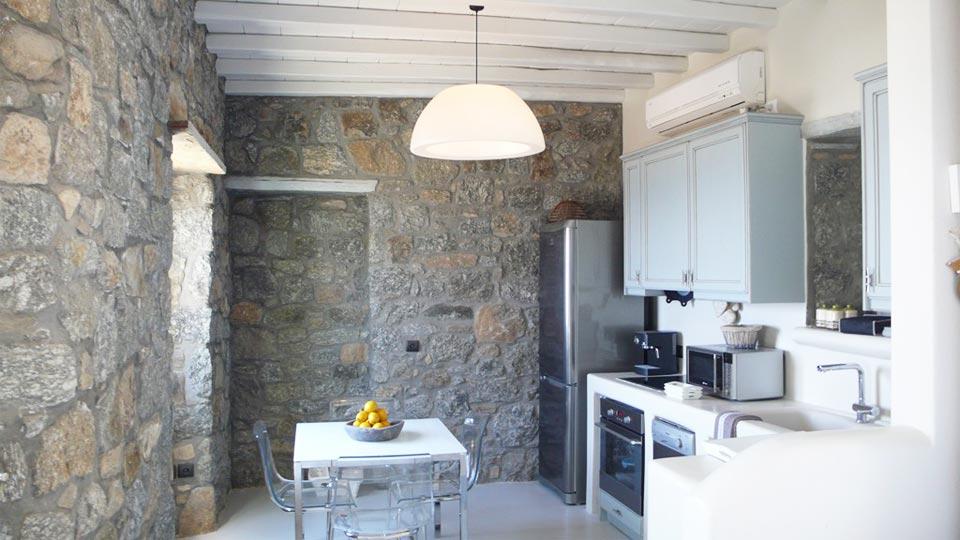 Foto della villa villa kalafatis i a cicladi mykonos for Case a mykonos vendita