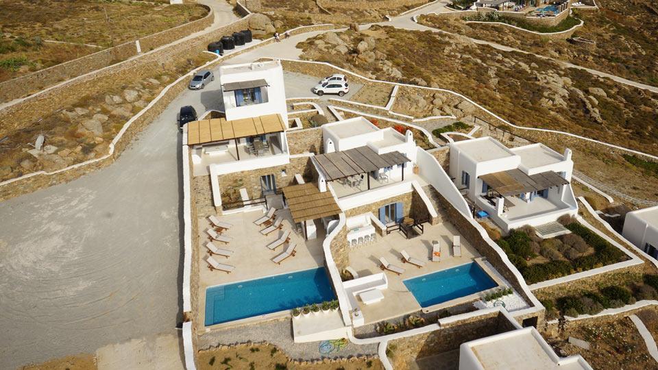 Villa Villa Acacius, Location à Cyclades - Mykonos