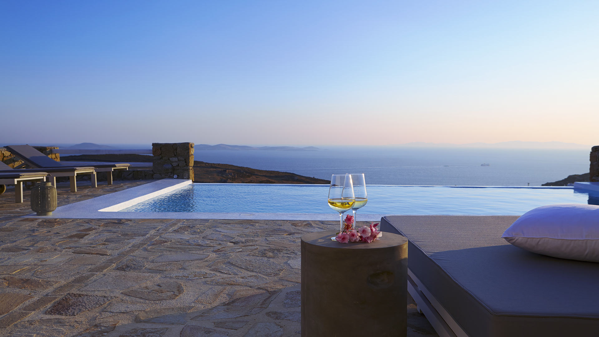 Villa Villa Marina, Rental in Cyclades - Mykonos