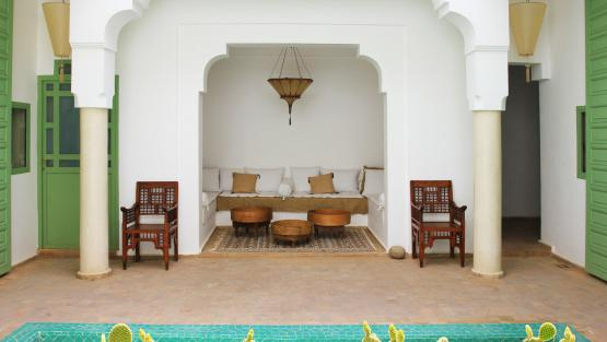 Villa Riad Kerkeden, Location à Marrakech