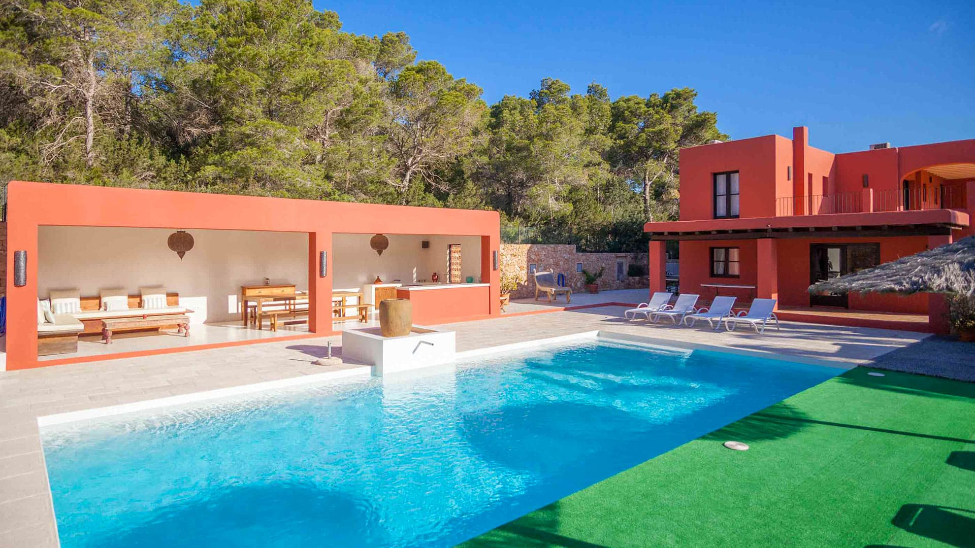 Villa Buganvilla Roja, Rental in Ibiza