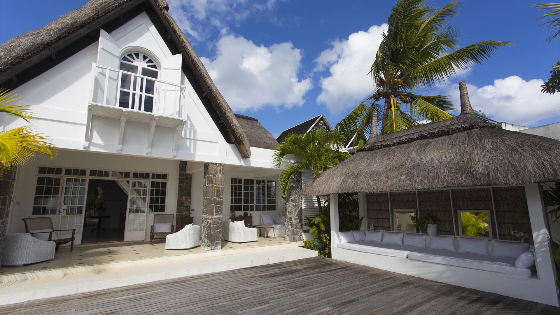 Villa coloniale villa à louer à Île maurice nord pointe aux