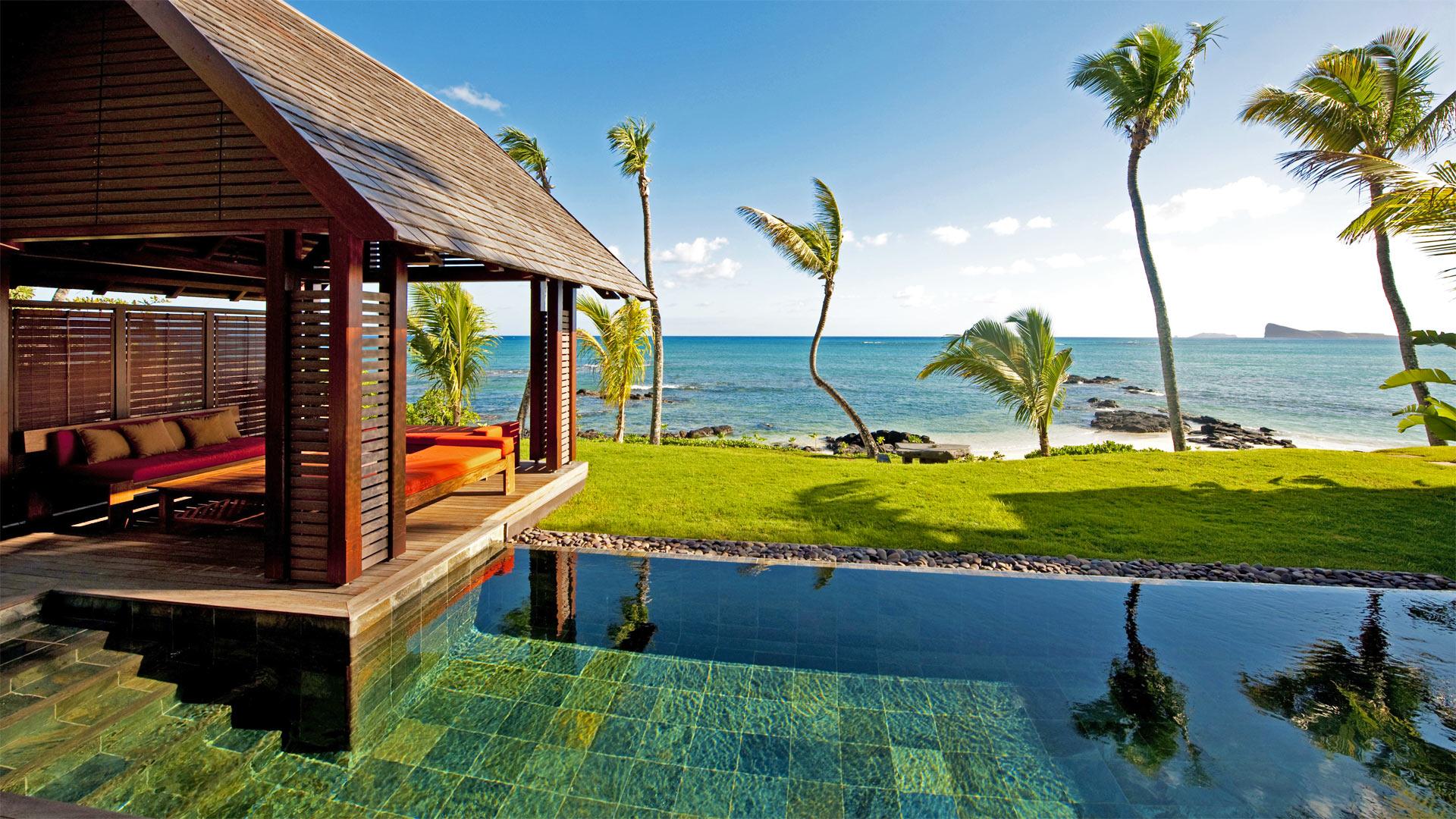 Villa Karma Villa Rental In Mauritius North Pointe Aux  # Maison Bois Bord De L Eau