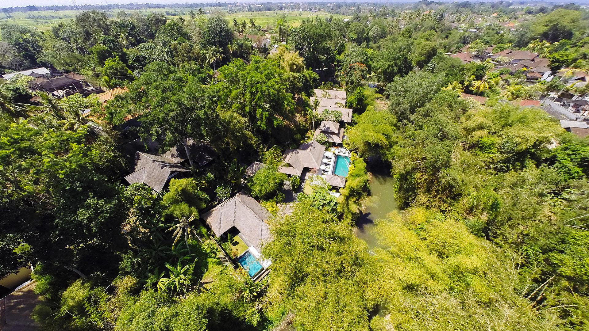 Villa Villa Maya Retreat, Location à Bali