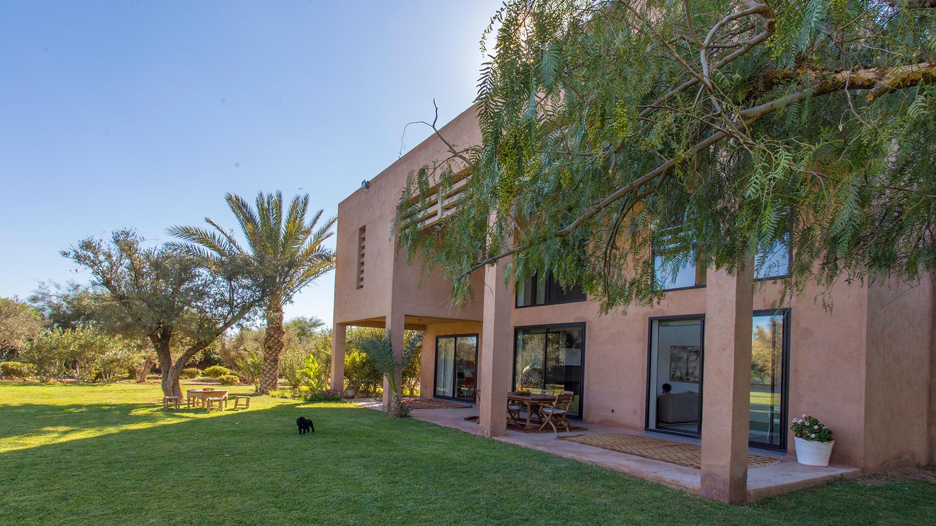 Photos de la villa la maison de marion marrakech villanovo for Jardin villa maroc