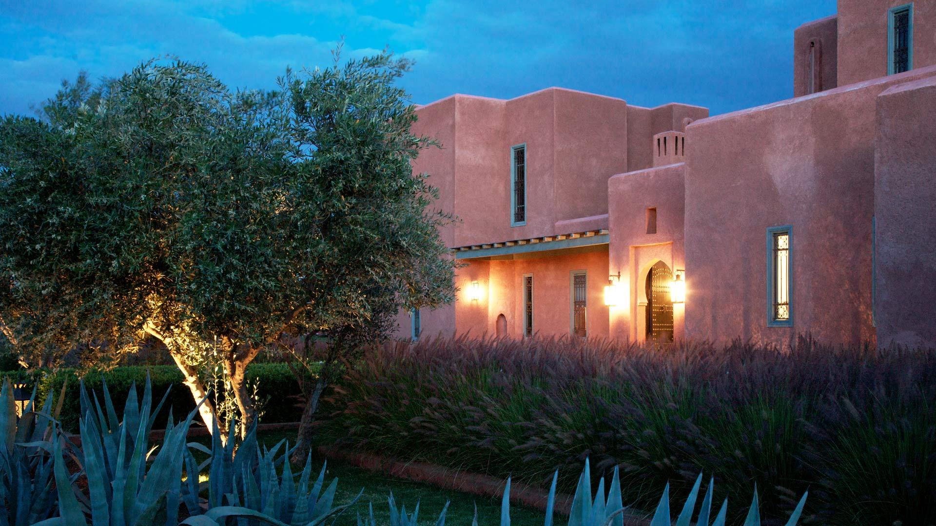 Photos de la villa villa angela marrakech villanovo for Jardin villa maroc