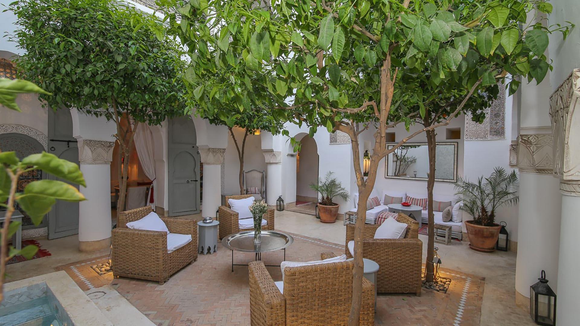 Villa Riad Idoine, Rental in Marrakech