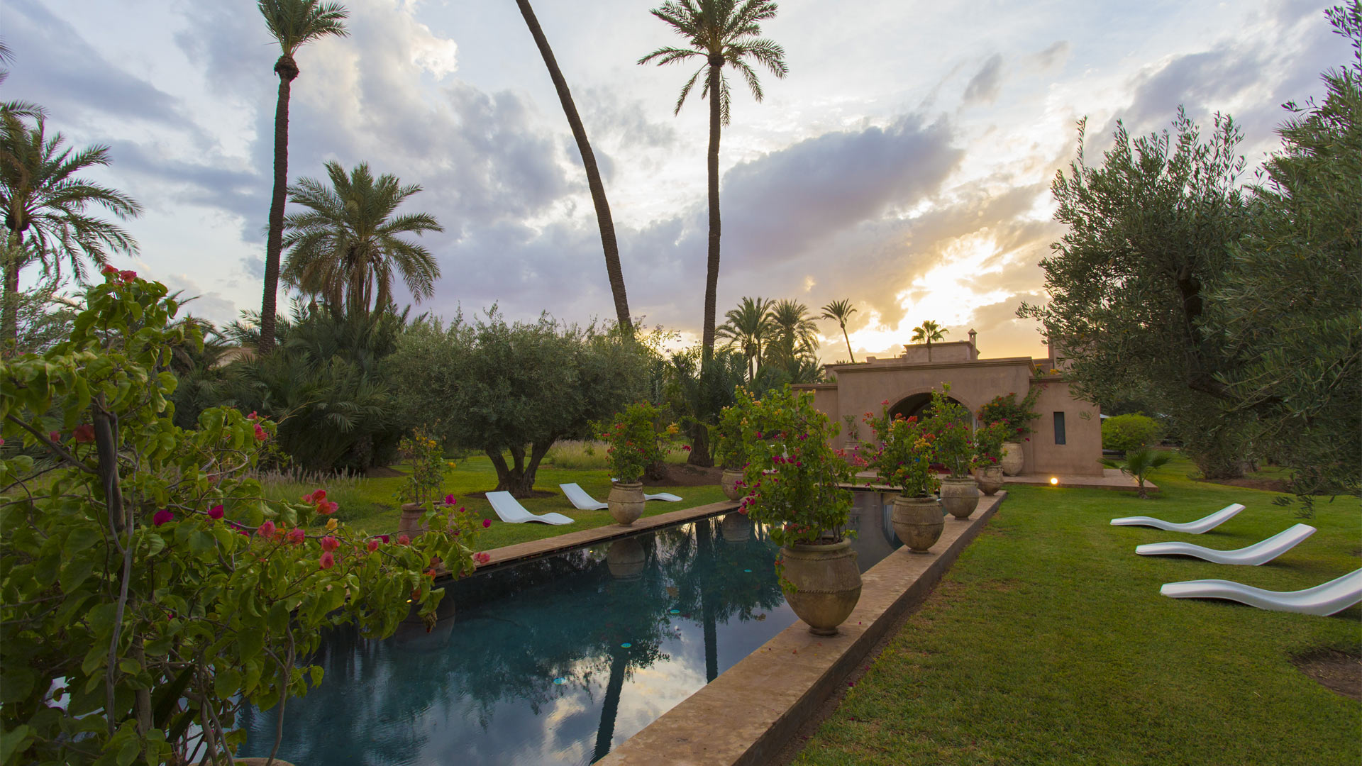 Villa Casbah, Location à Marrakech