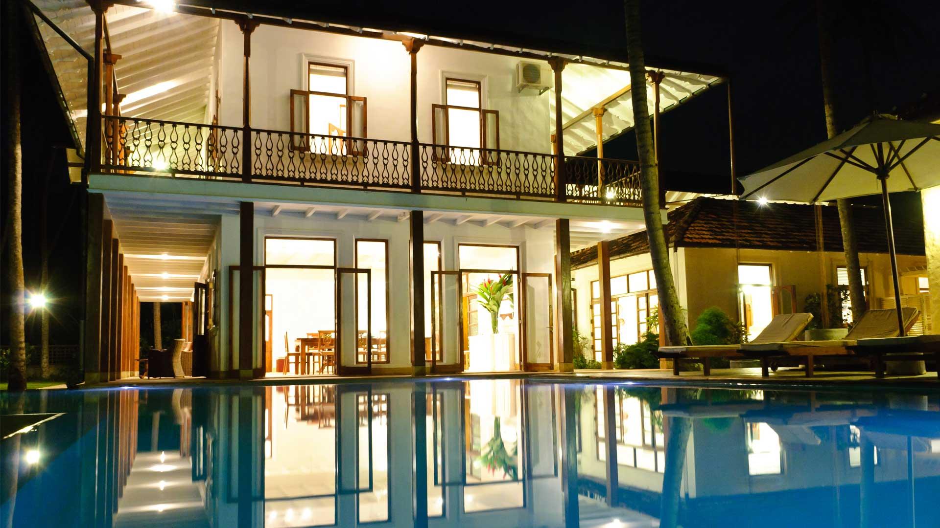 Villa Villa Sanjaya, Location à Galle