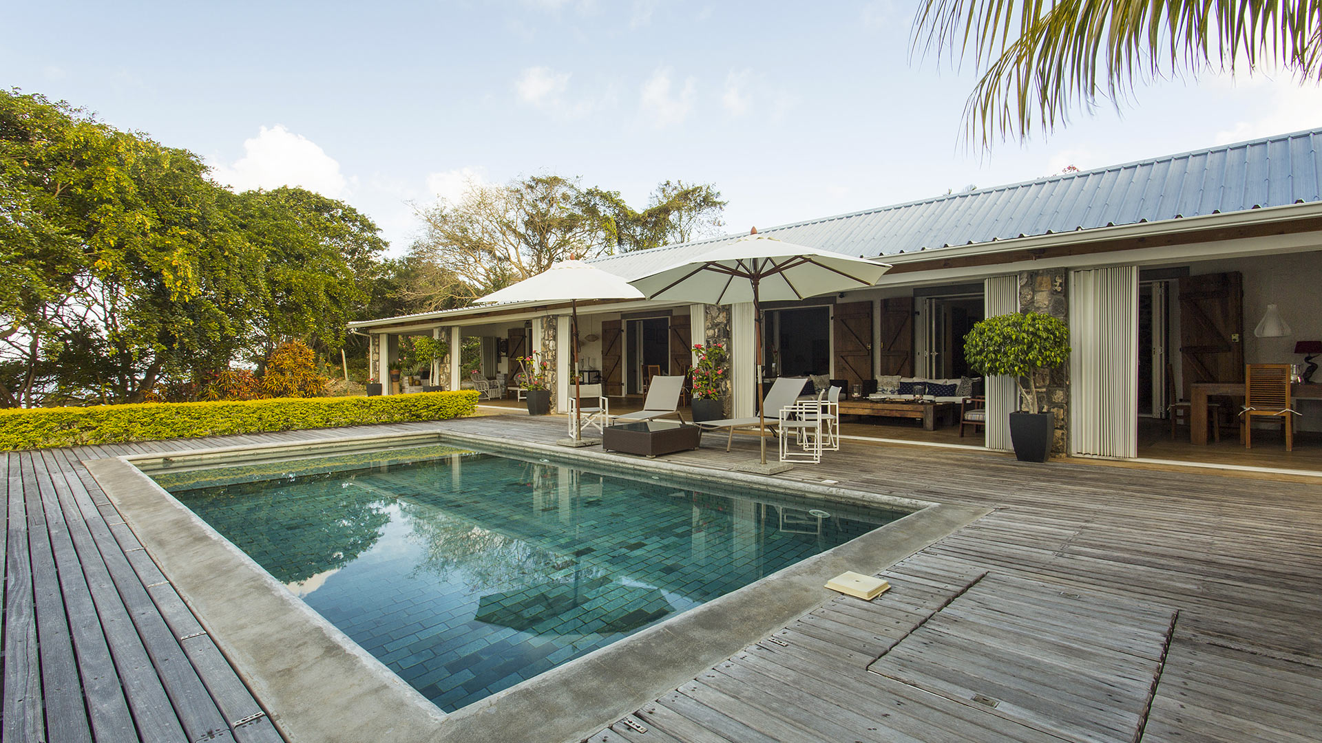 Villa Villa Anse Fauverelle, Location à Île Maurice Sud Est