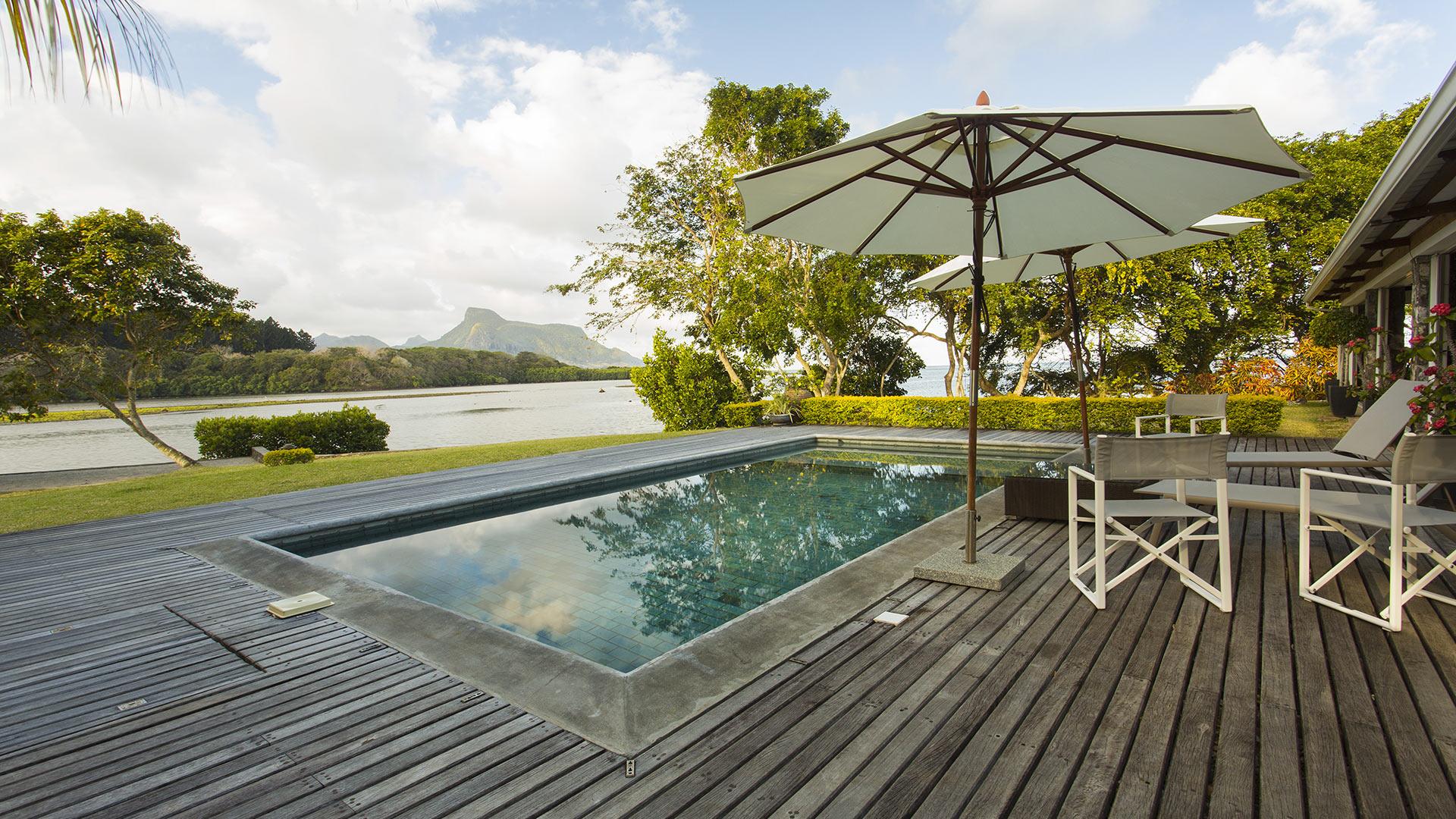 Villa Villa Anse Fauverelle, Rental in Mauritius South East