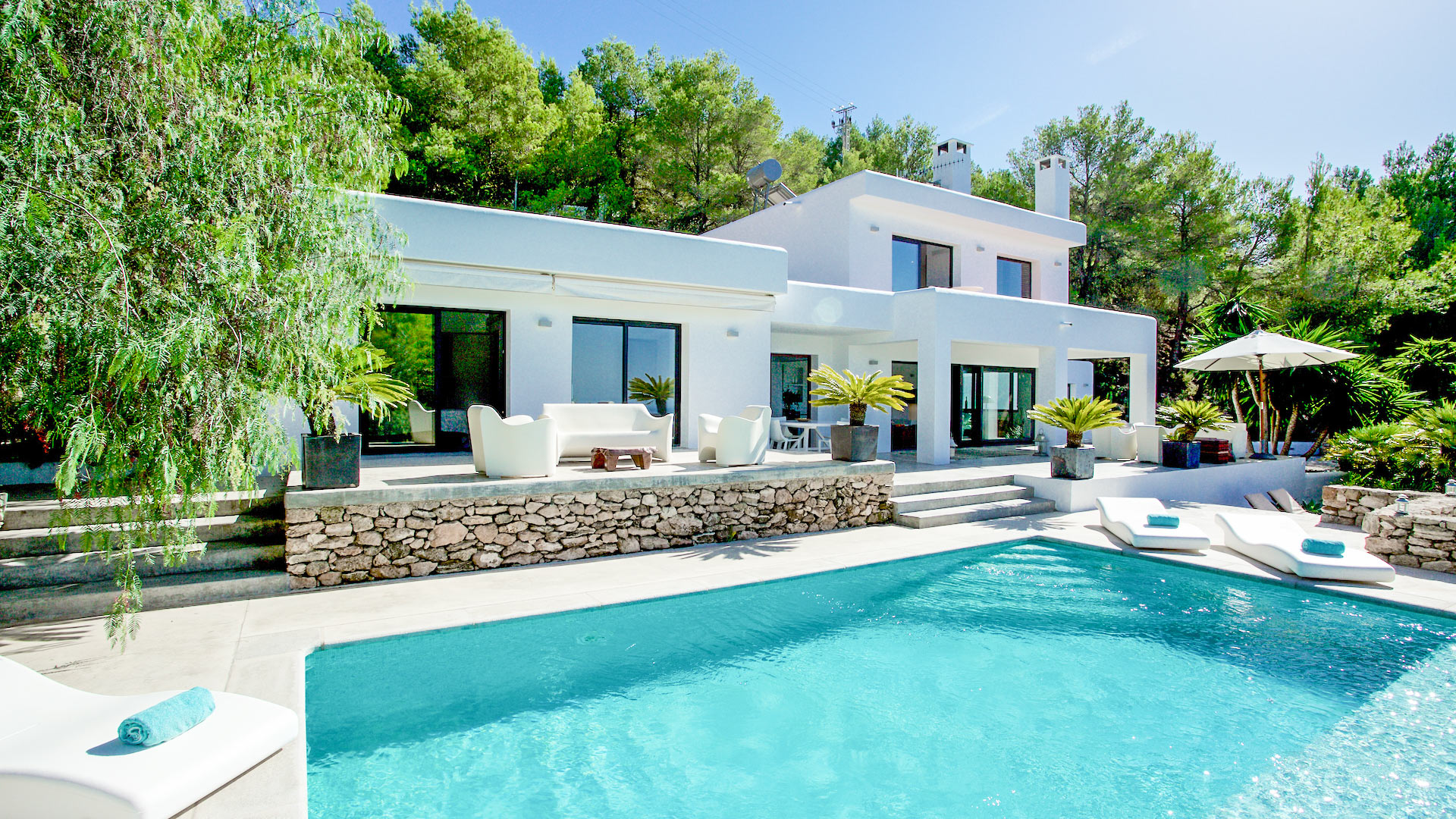Villa Villa Colombes, Location à Ibiza