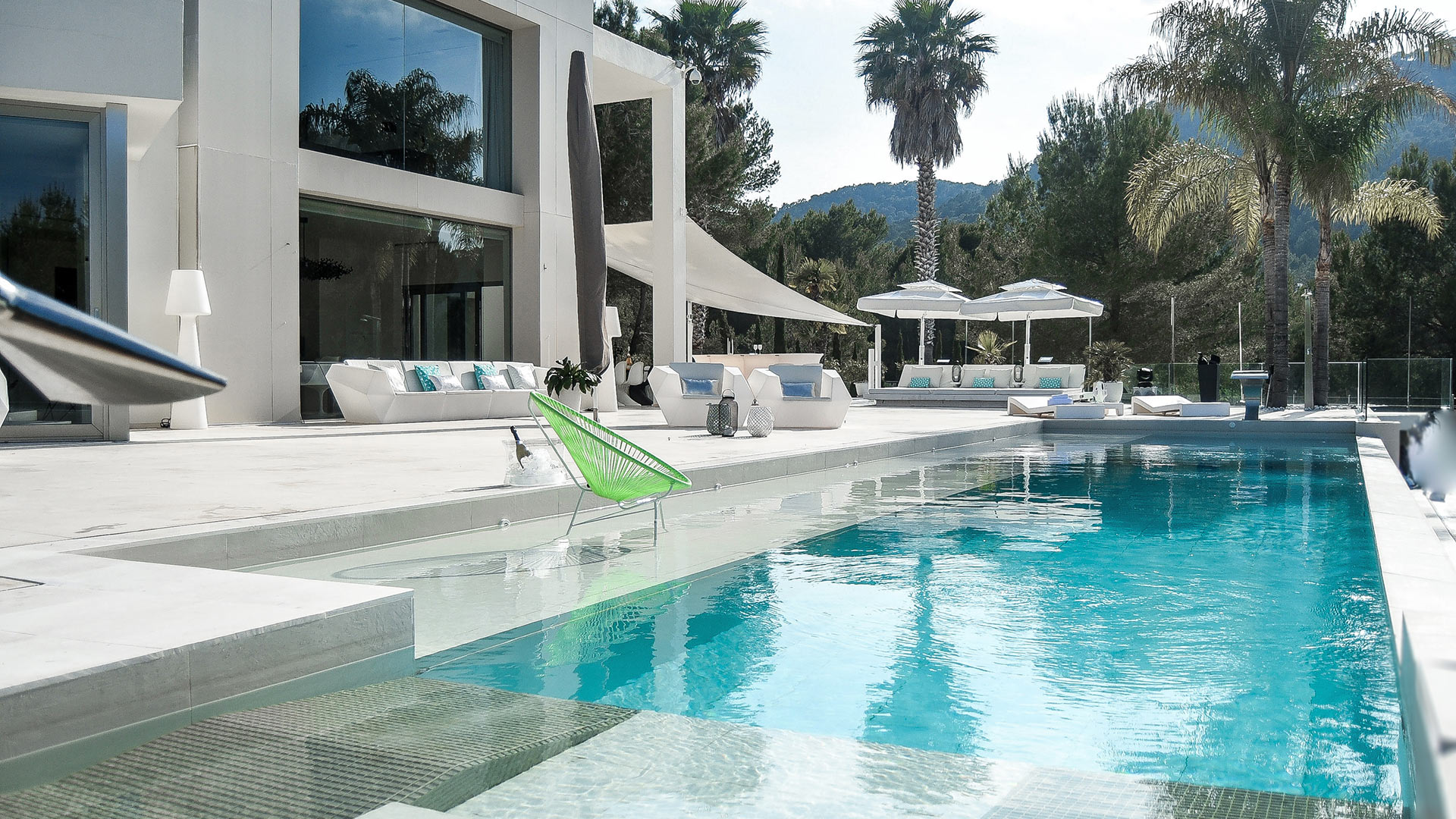 Villa Villa Rock, Location à Ibiza