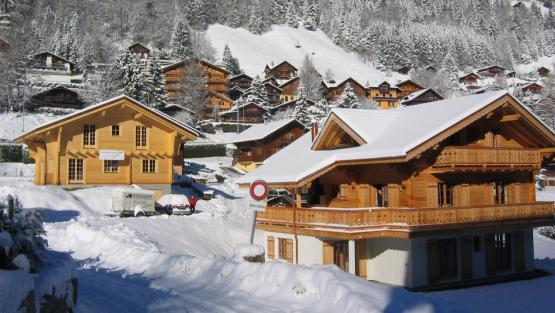 Villa Chalet du Champérolain, Rental in Swiss Alps