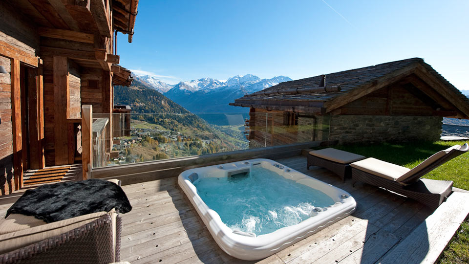 Villa Chalet Northstar, Location à Alpes suisses