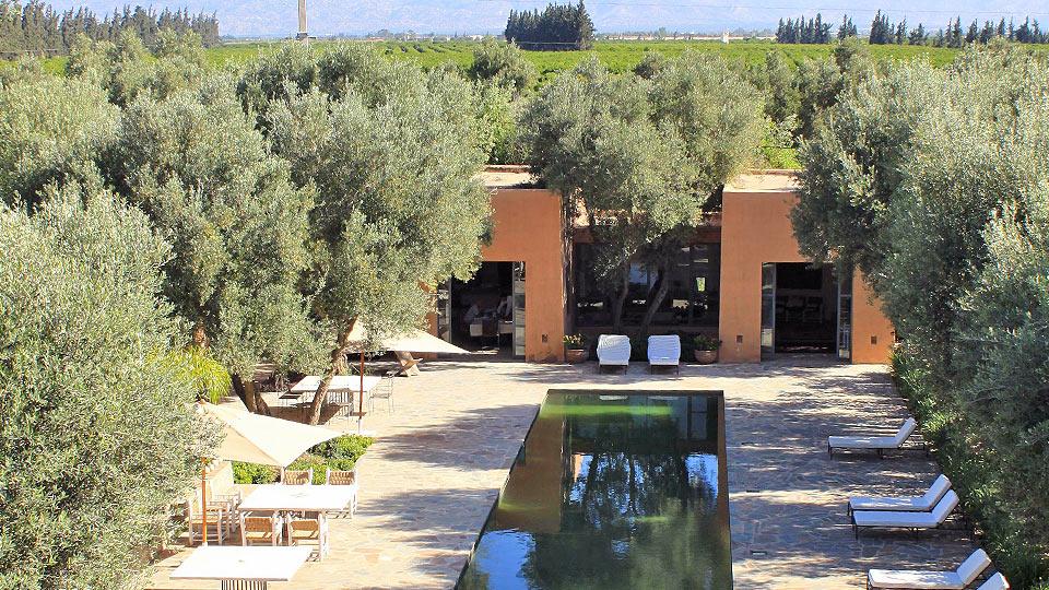 Villa La Tour des Faucons, Location à Taroudant