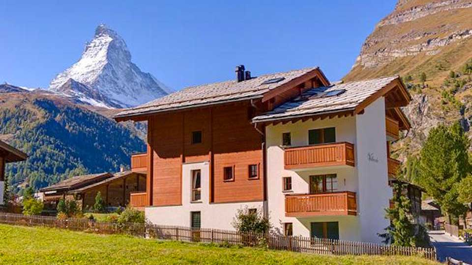Villa Chalet Alpental I, Location à Alpes suisses