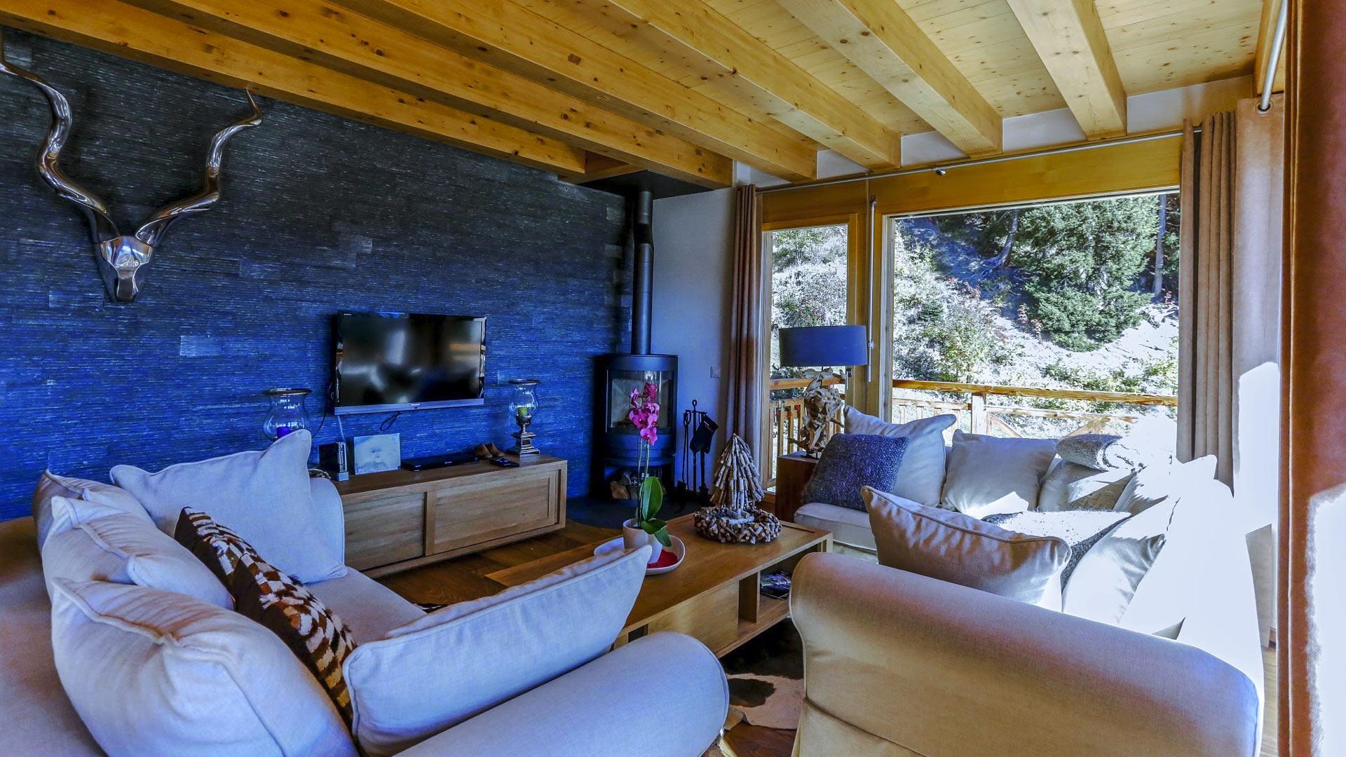 Villa Chalet Hugues, Location à Alpes suisses