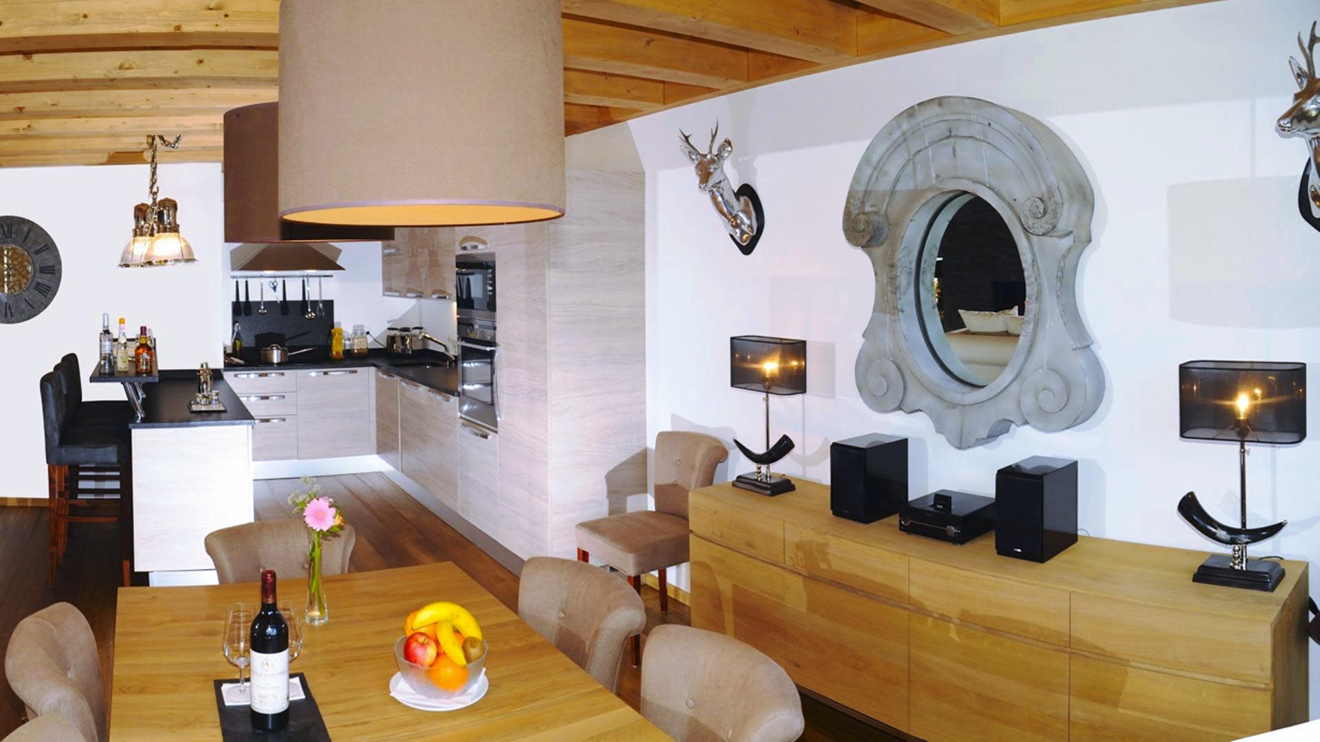 Villa Chalet Miley, Location à Alpes suisses