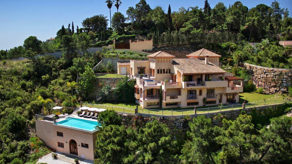 Location de villas de luxe en andalousie - Villa de luxe visite privee ...