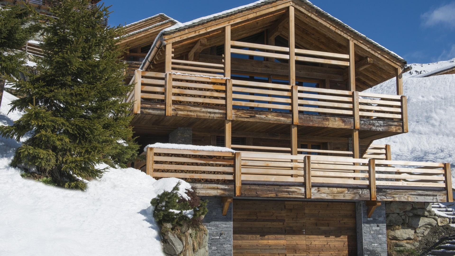 Villa Chalet des Fées, Location à Alpes suisses