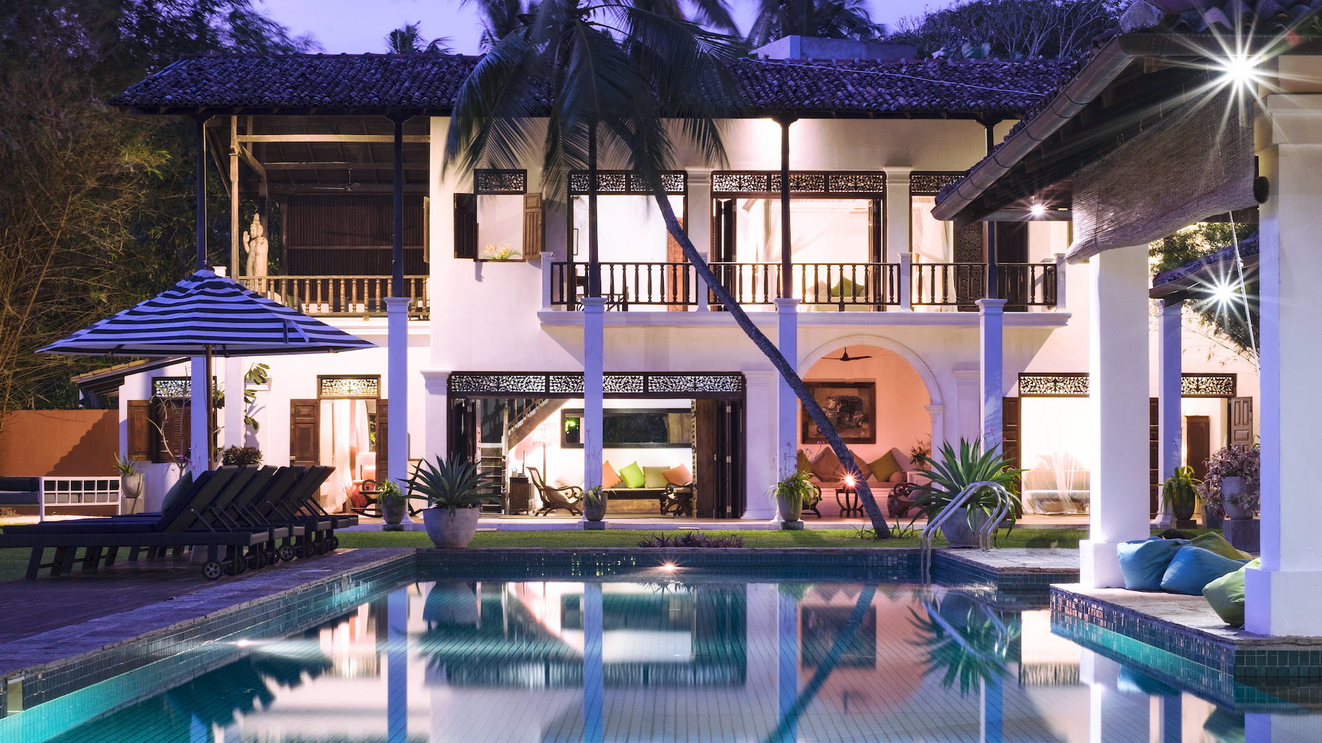 Villa Villa Akila, Location à Galle