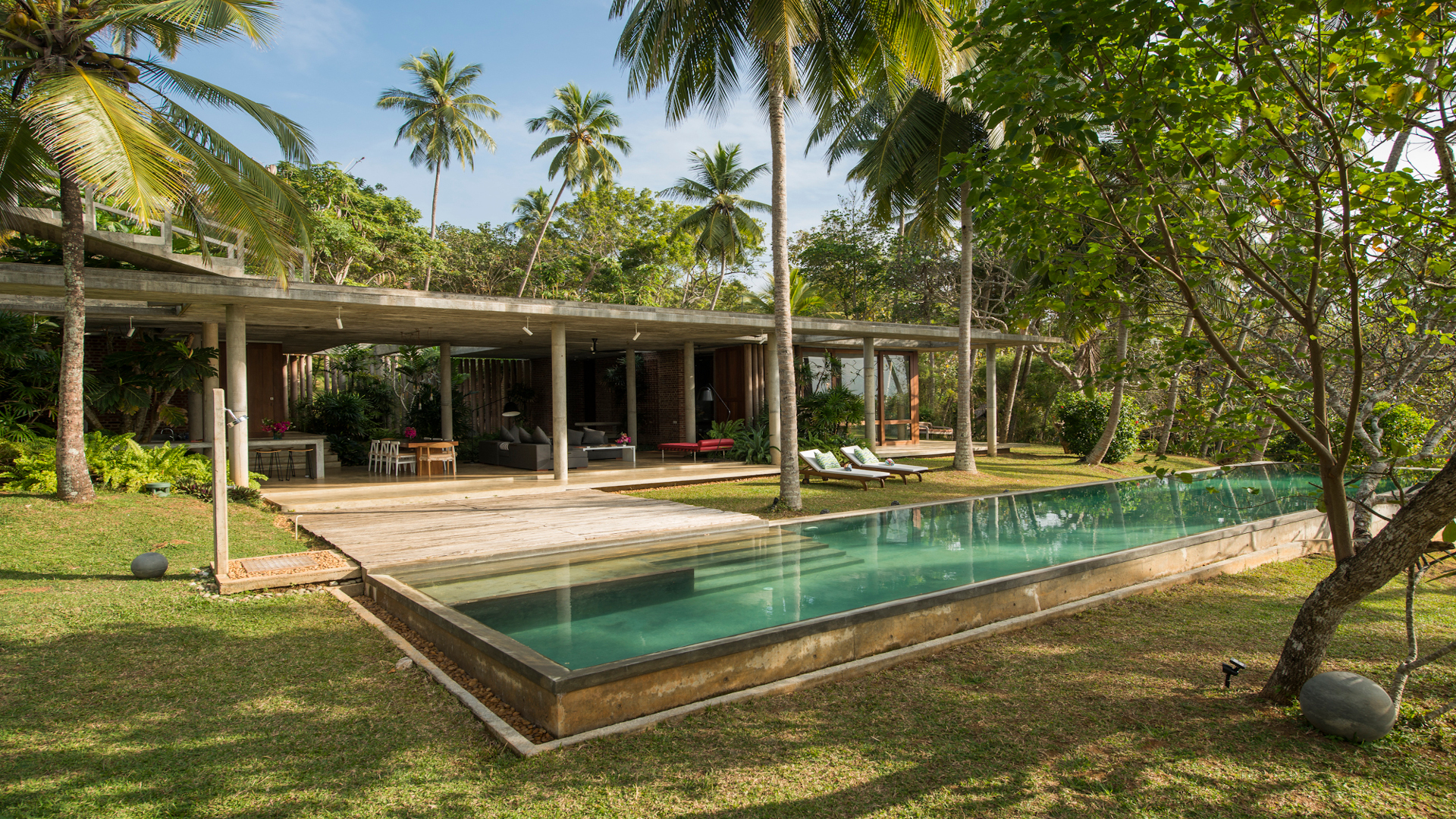 Villa Villa Samadhi, Location à Tangalle