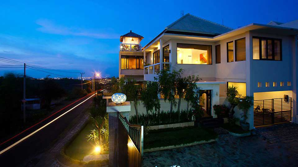 Villa Villa Sky House Jimbaran, Location à Bali