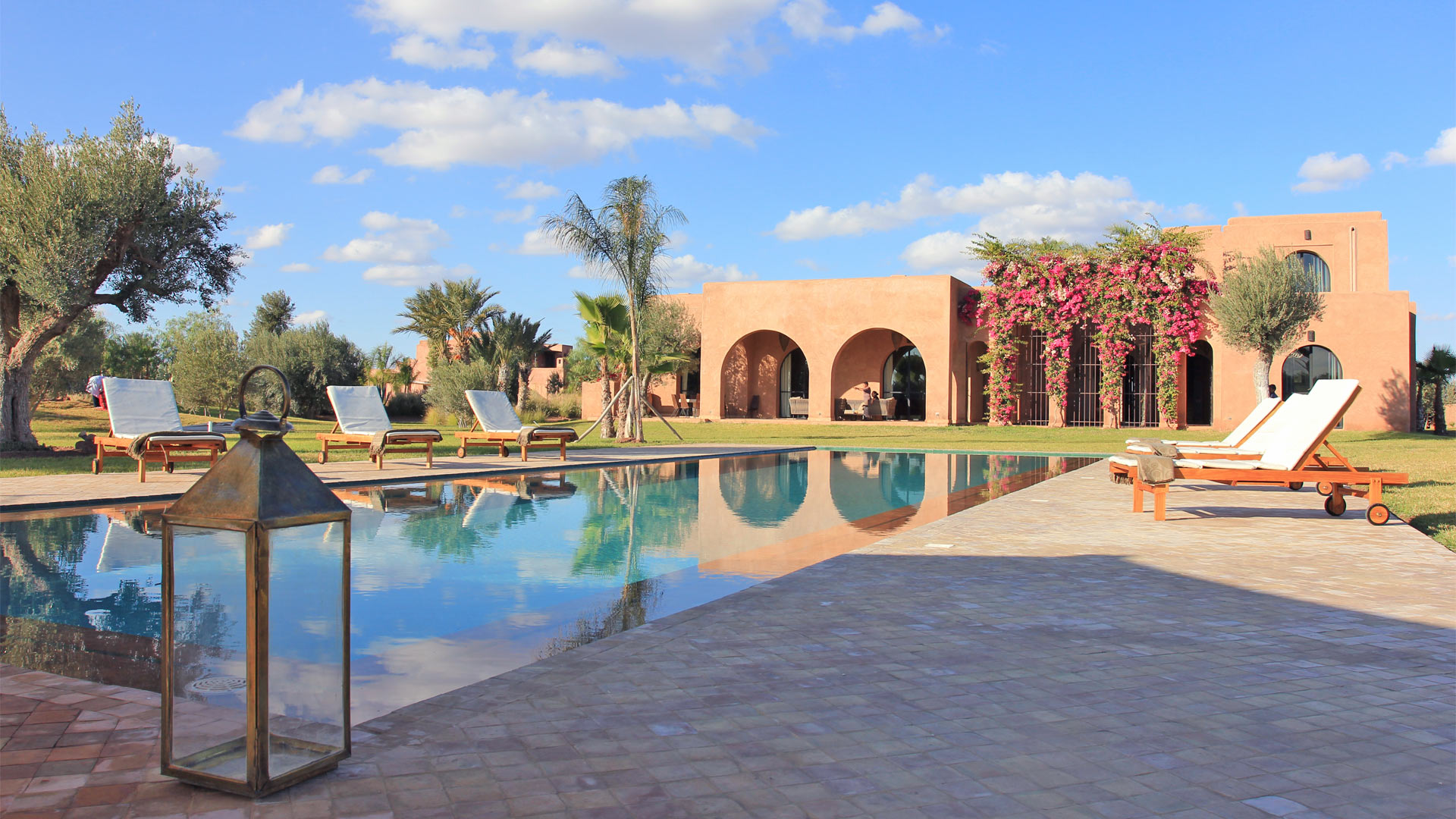 Villa Dar Mana, Location à Marrakech