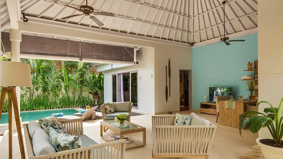 Villa Villa Sky, Location à Bali