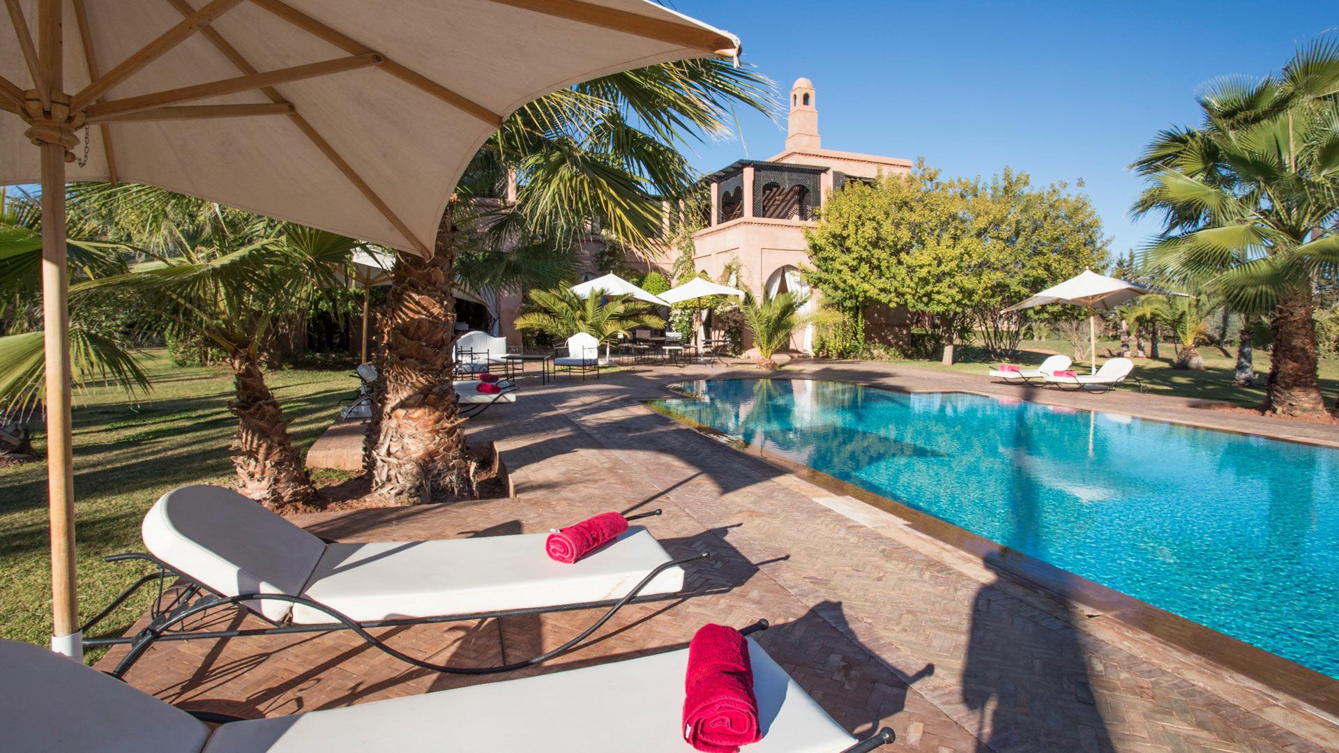 Villa Dar Marja, Ferienvilla mieten Marrakesch