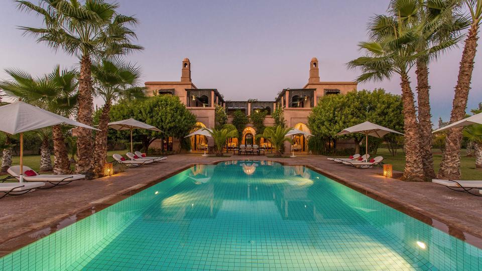 Villa Dar Marja, Location à Marrakech