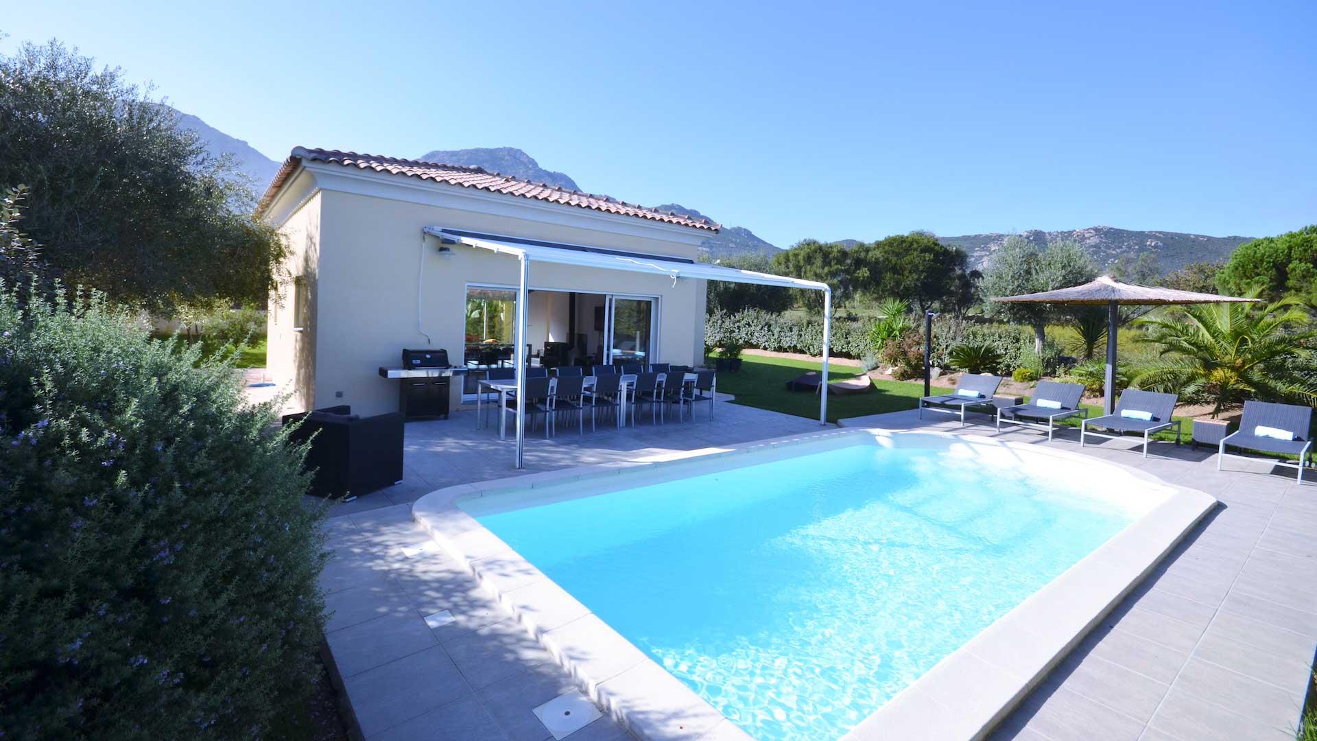 Villa Villa Ancolie, Rental in Corsica