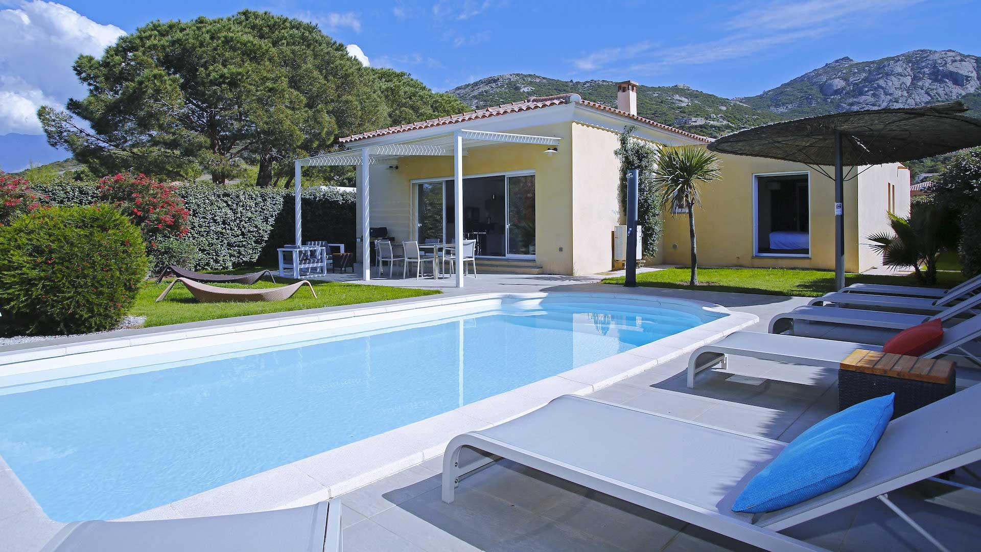 Villa Villa Patrizia, Location à Corse