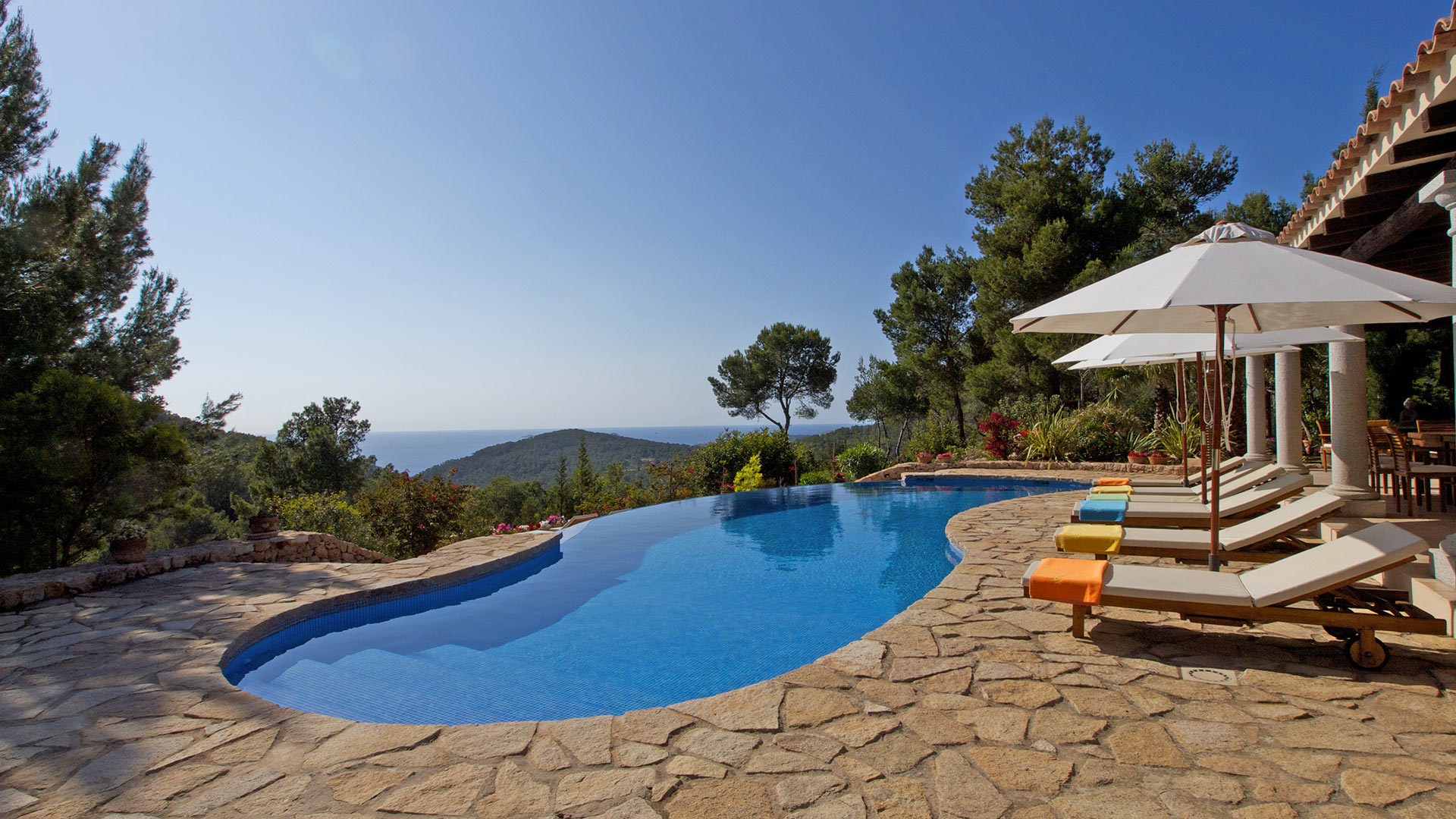 Villa Can Coll Sa Creu, Location à Ibiza