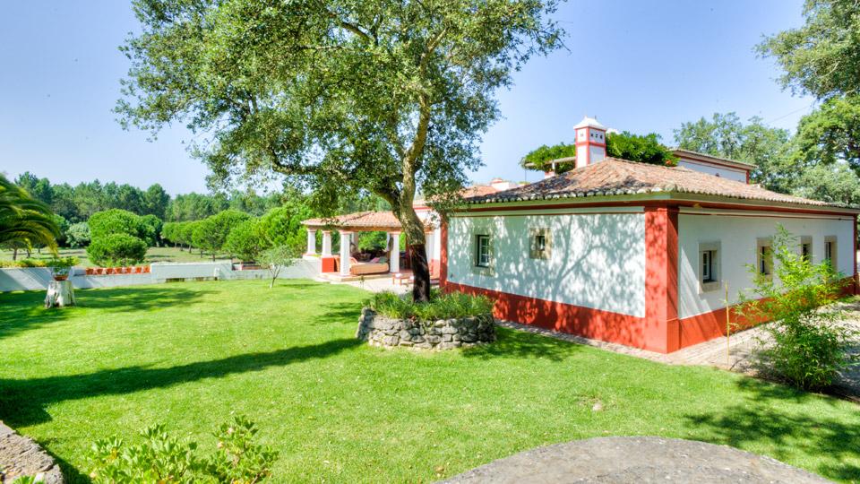 Villa Quinta Grande, Location à Lisbonne