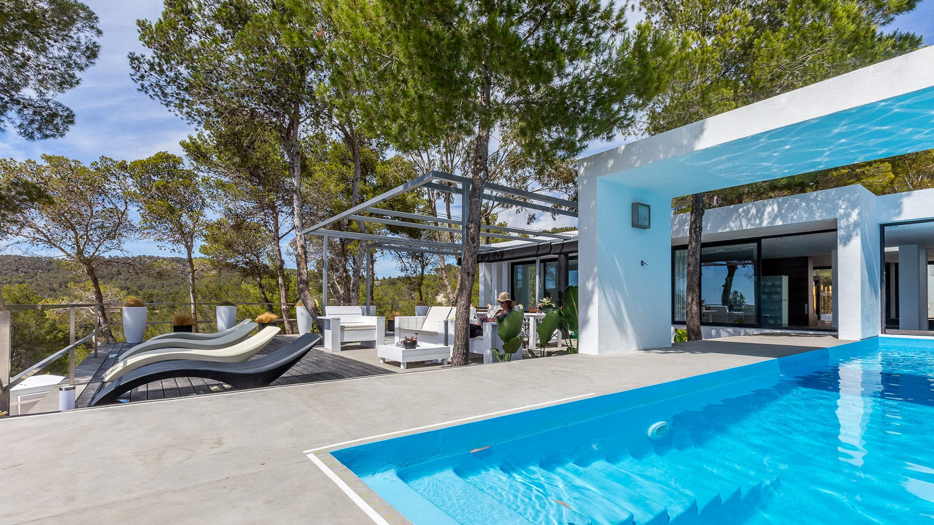 Villa Villa Nicky, Location à Ibiza