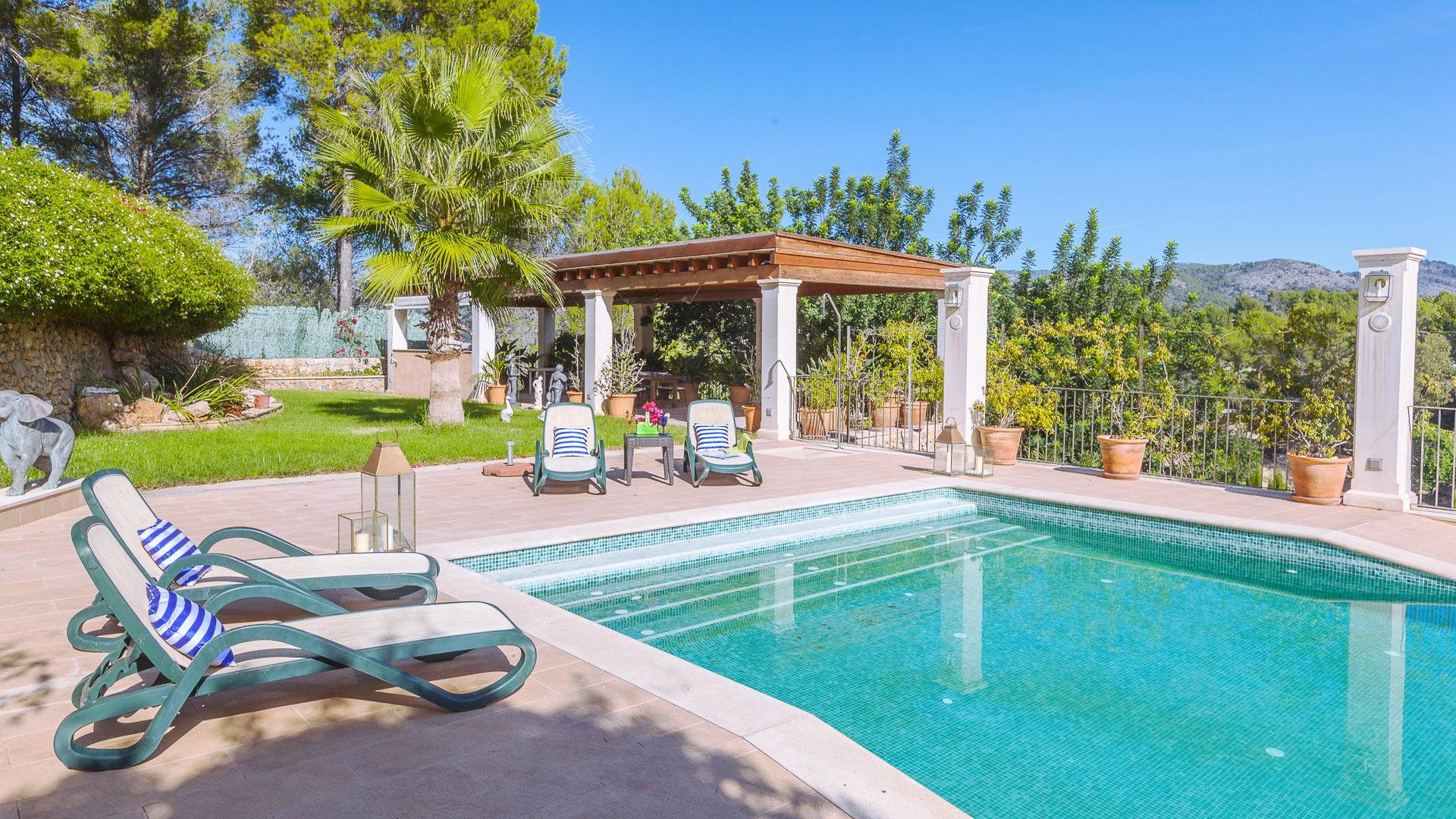 Villa caridad villa mieten in mallorca s dwesten for Mallorca villa mieten