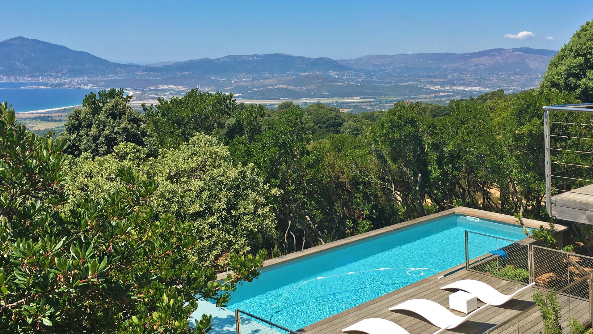 Swimmingpool Villa Villa Orso In Korsika   Swimmingpool