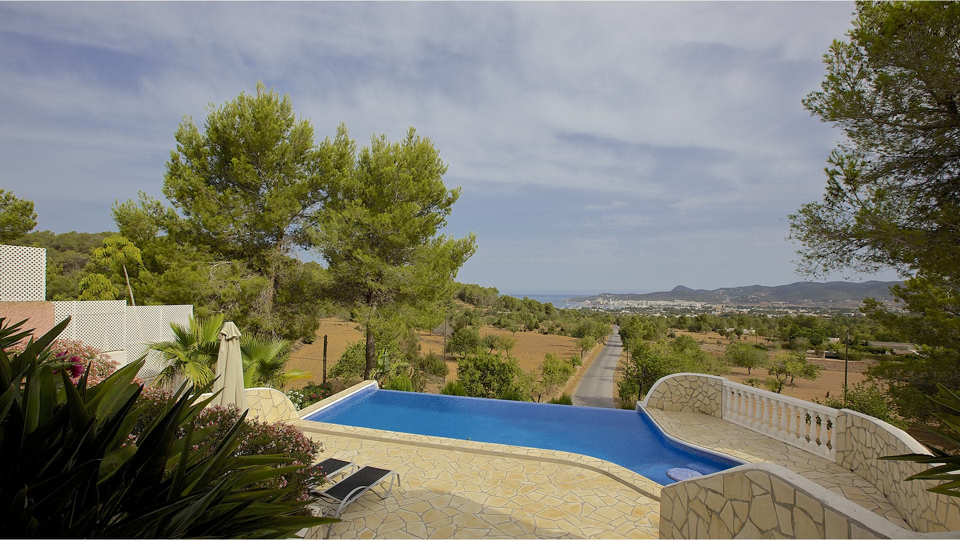 Villa Portmany view, Rental in Ibiza